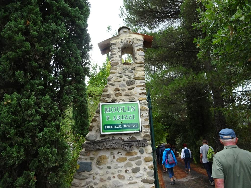 Visite du moulin à huile d'olives