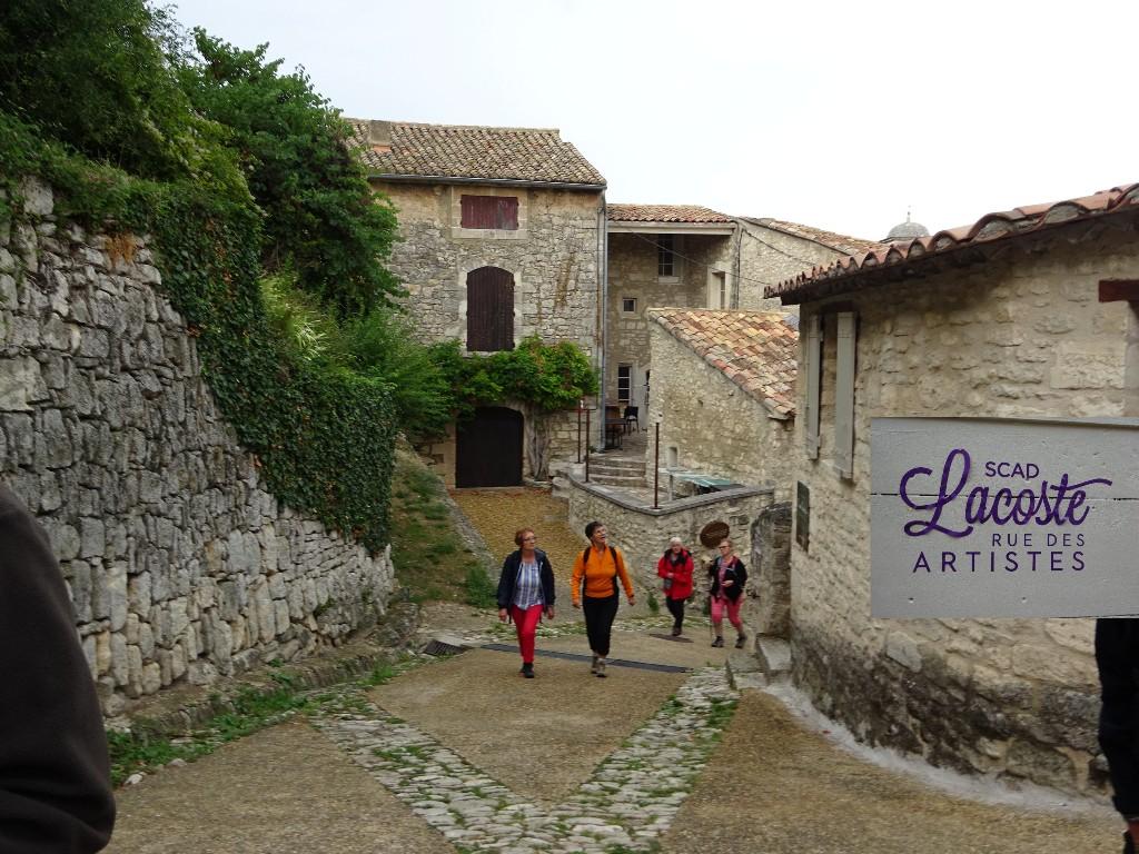 Visite du village perché de Lacoste