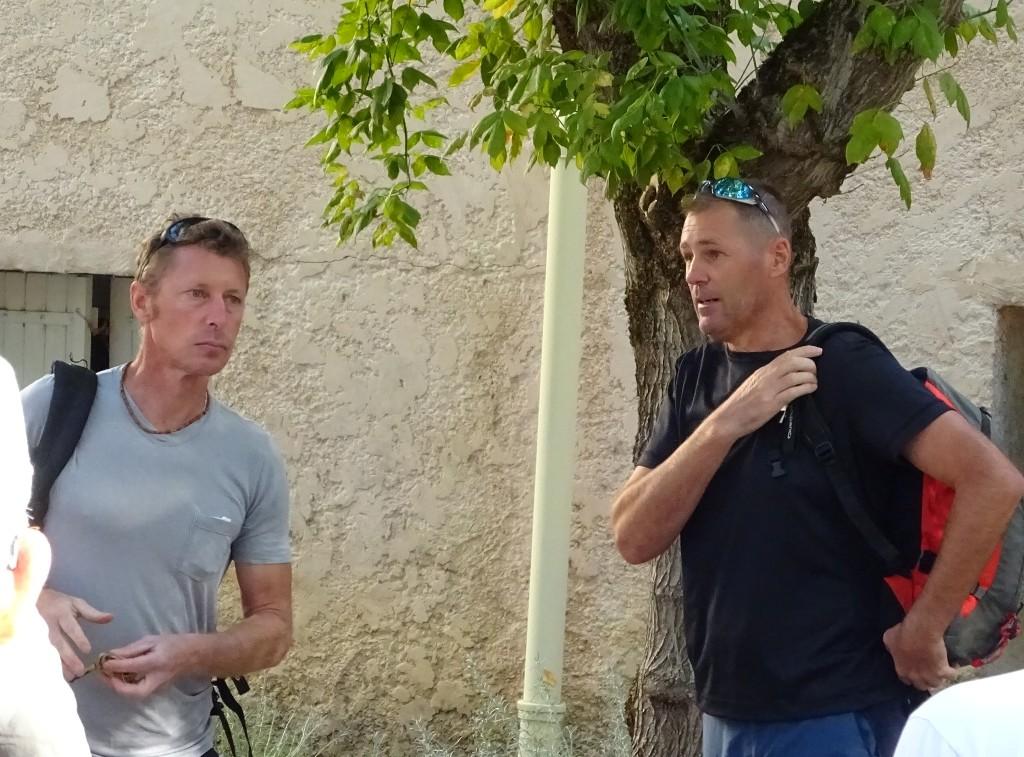 Nos guides : Nicolas et Olivier