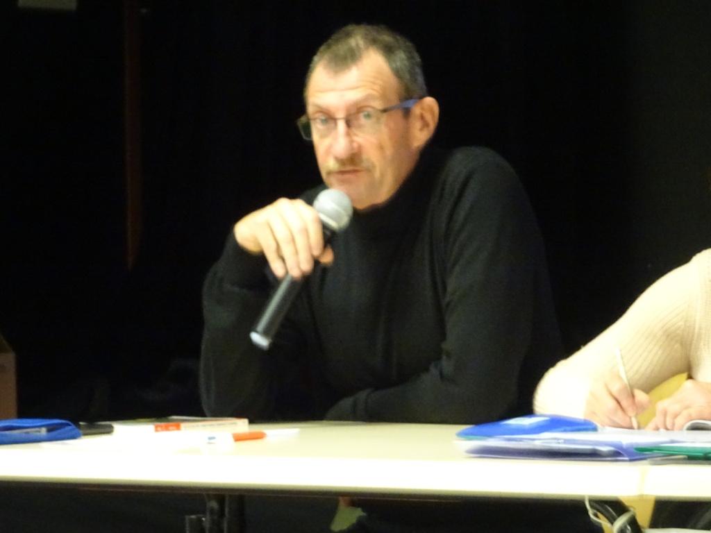 Le nouveau Président FFRP Meuse