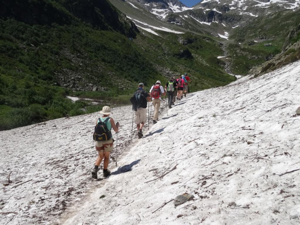 On marche sur des amas d'avalanches