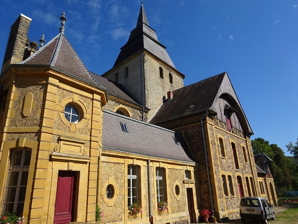 Visite de l'église Saint-Remy de Laval Dieu
