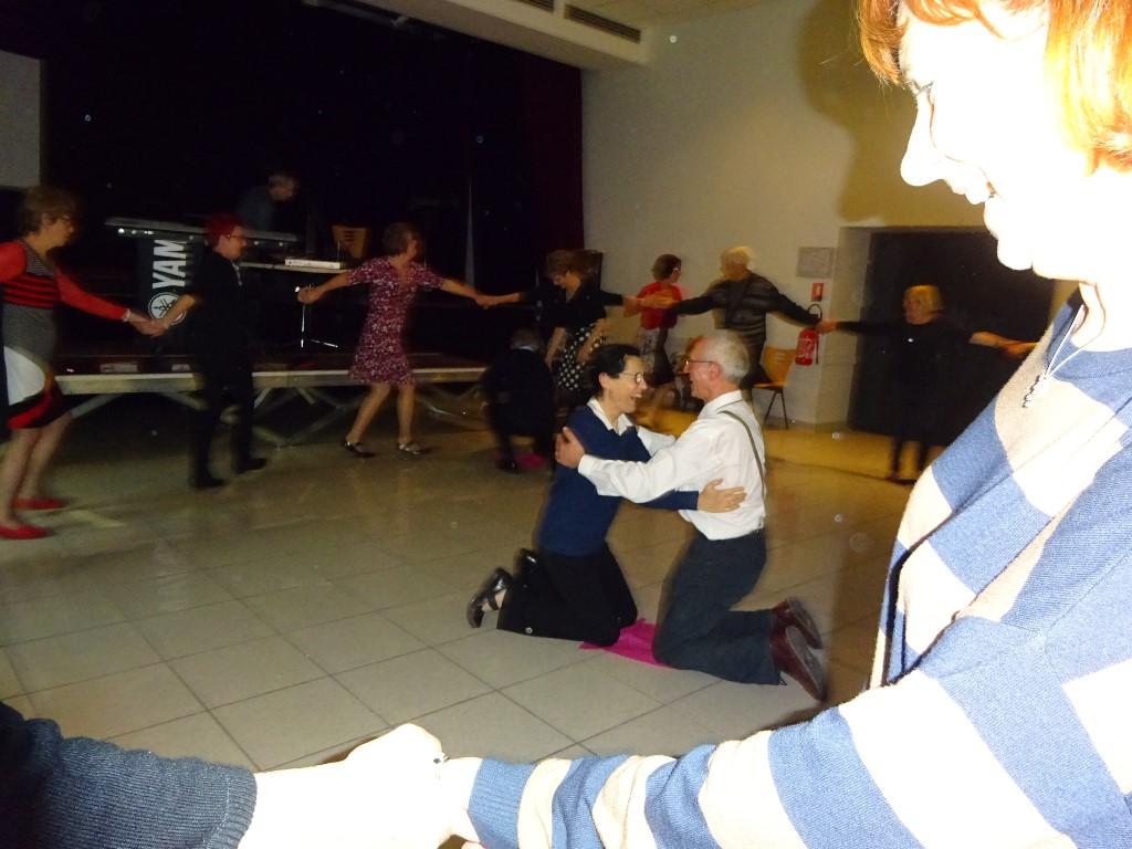 La danse du tapis