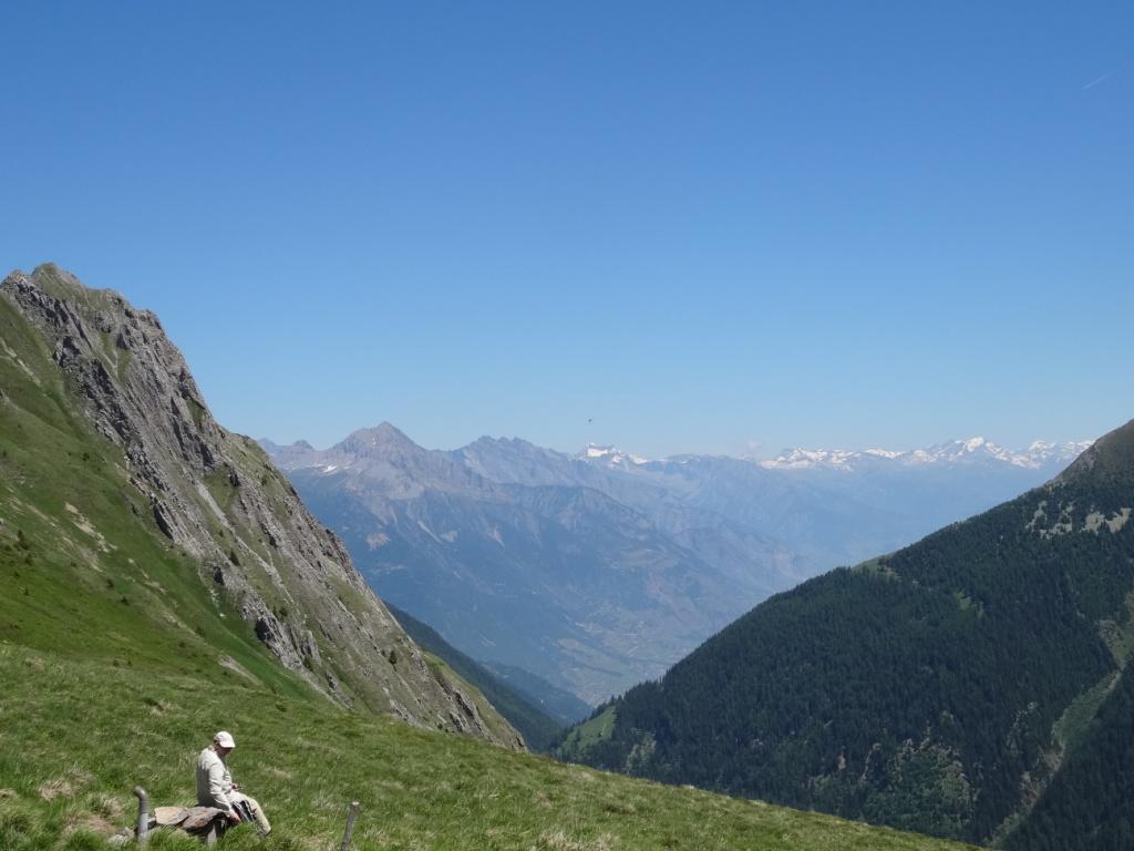 Vue vers la Suisse