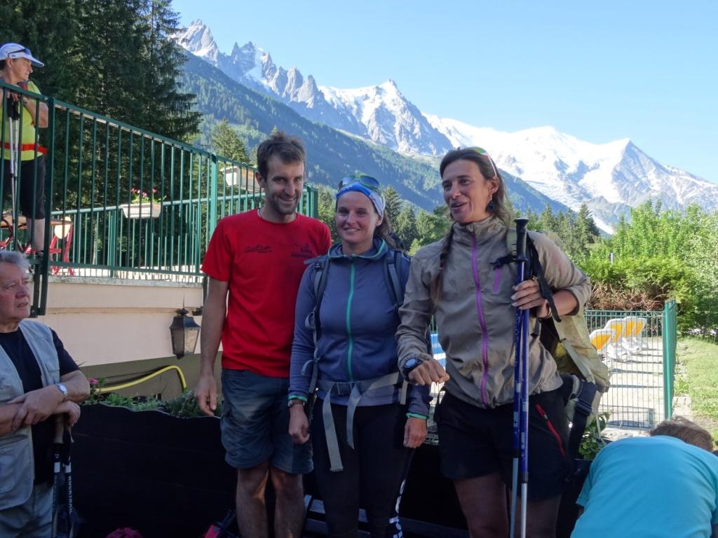 Les guides , Stéphane, Laetitia, Emilie...