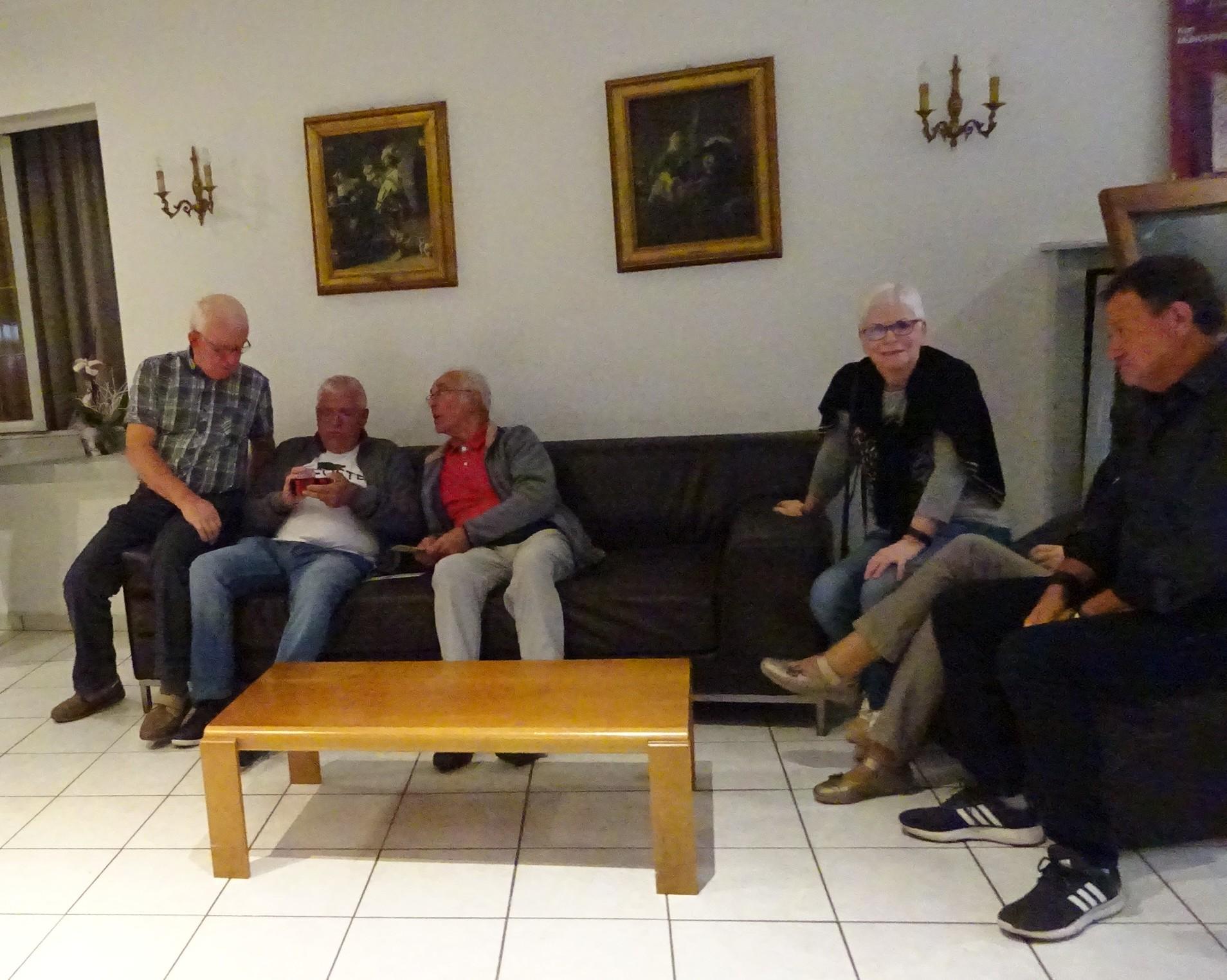 A l'hôtel à Colmar