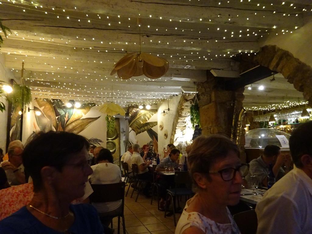 Repas au restaurant Le Saladier