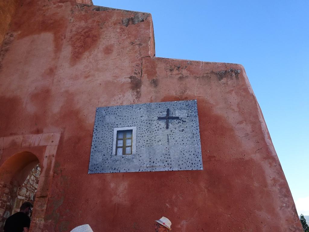 Les façades d'ocre