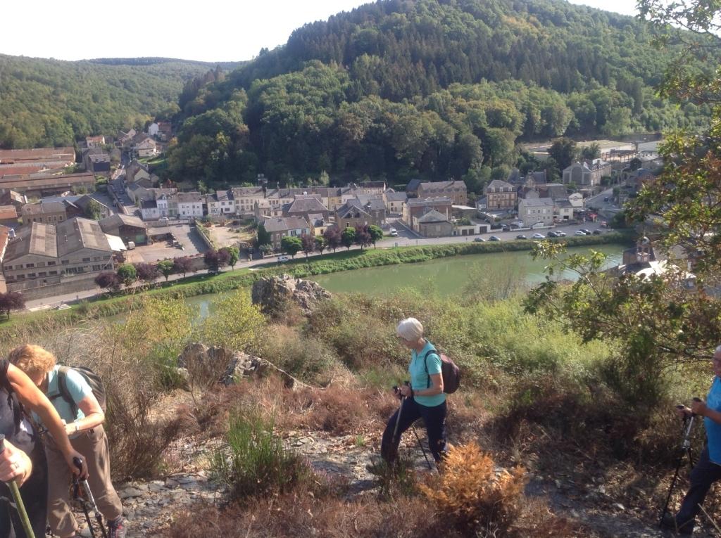 Vue sur la Meuse à Bogny