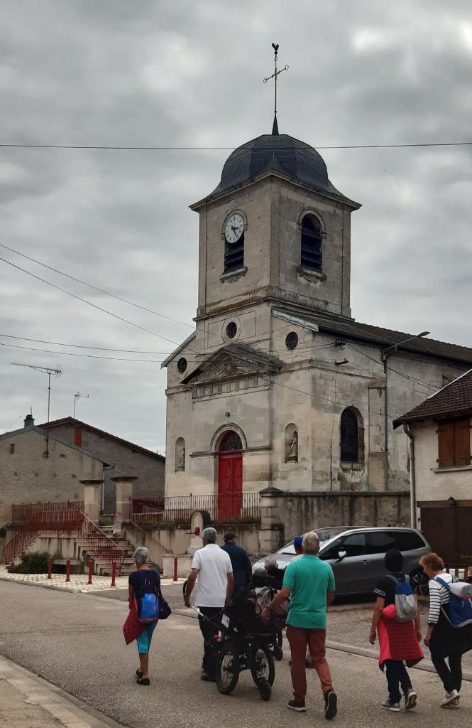 L'église de Taillancourt