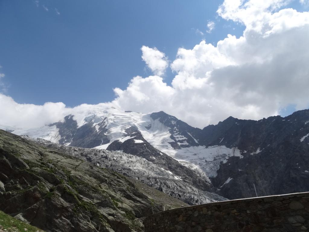 Le glacier de Bionnassay