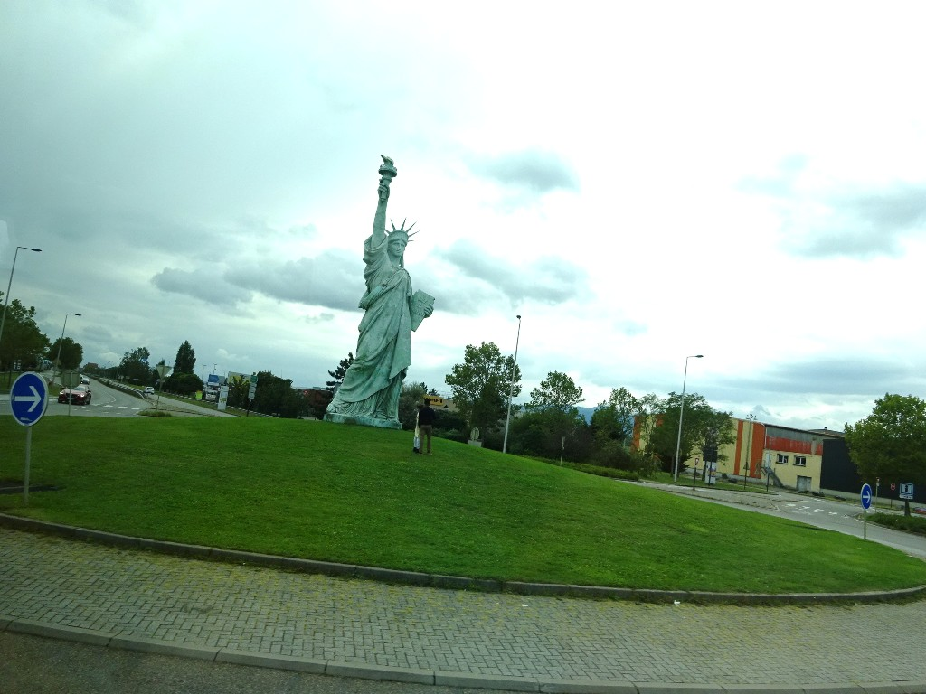 La statue de la Liberté à Colmar