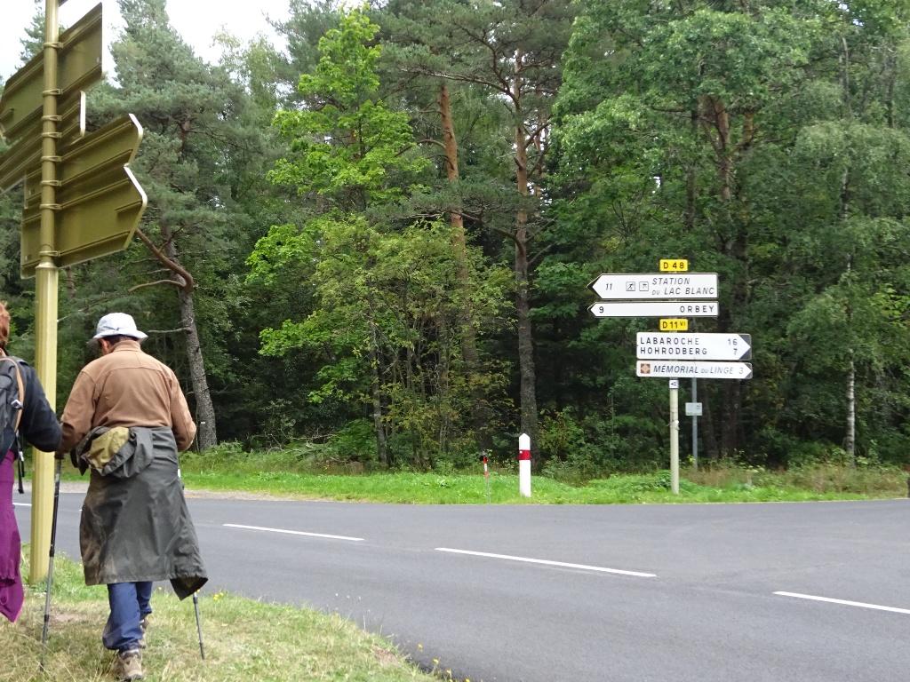 Arrivée au Col de Wettstein