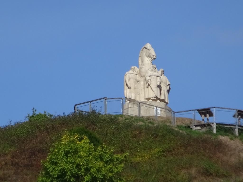 La statue des 4 Fils Aymon