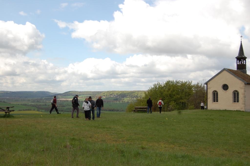 On profite de la vue sur la vallée de la Meuse