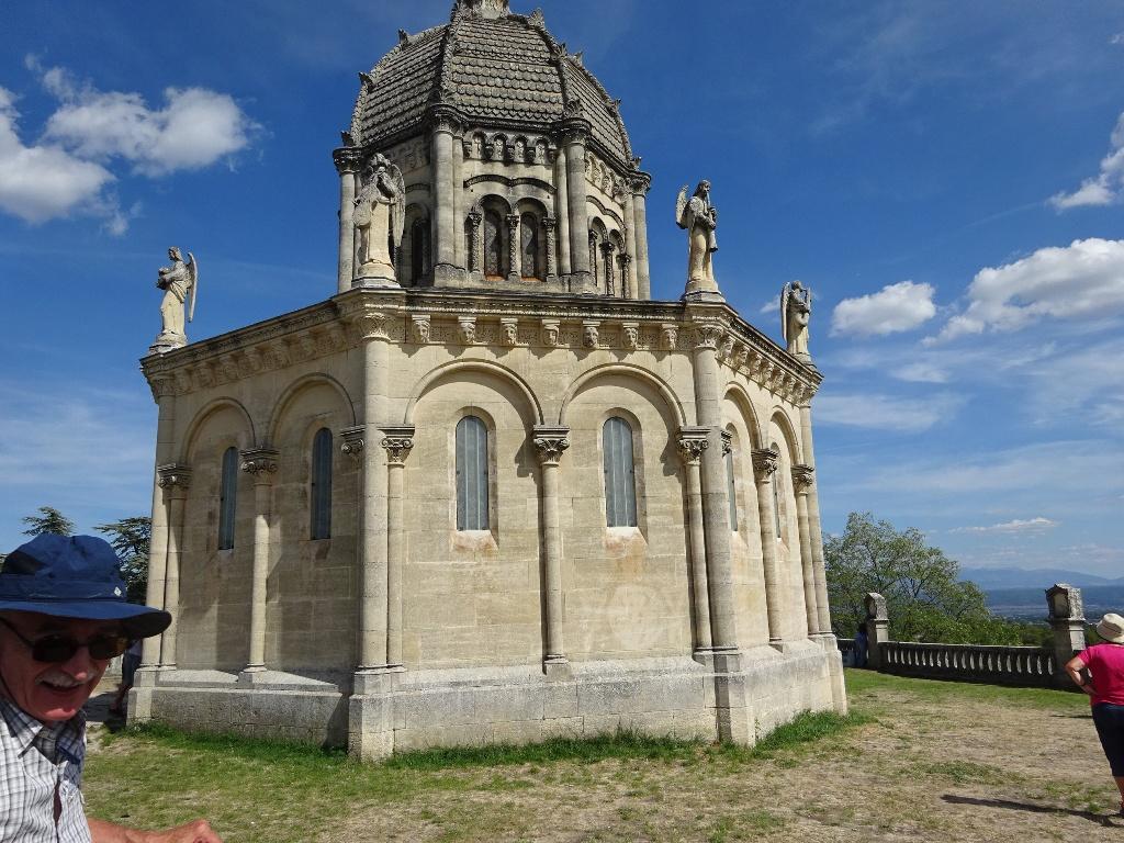 Lea chapelle de la citadelle de Forcalquier