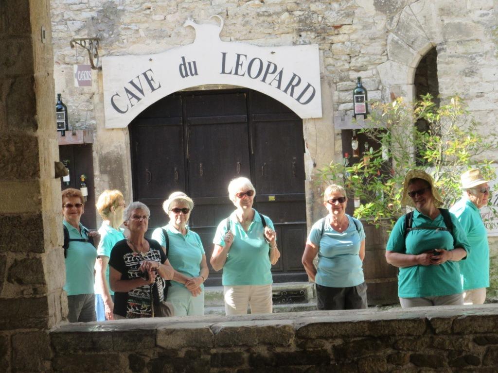 Les touristes visitent Martel
