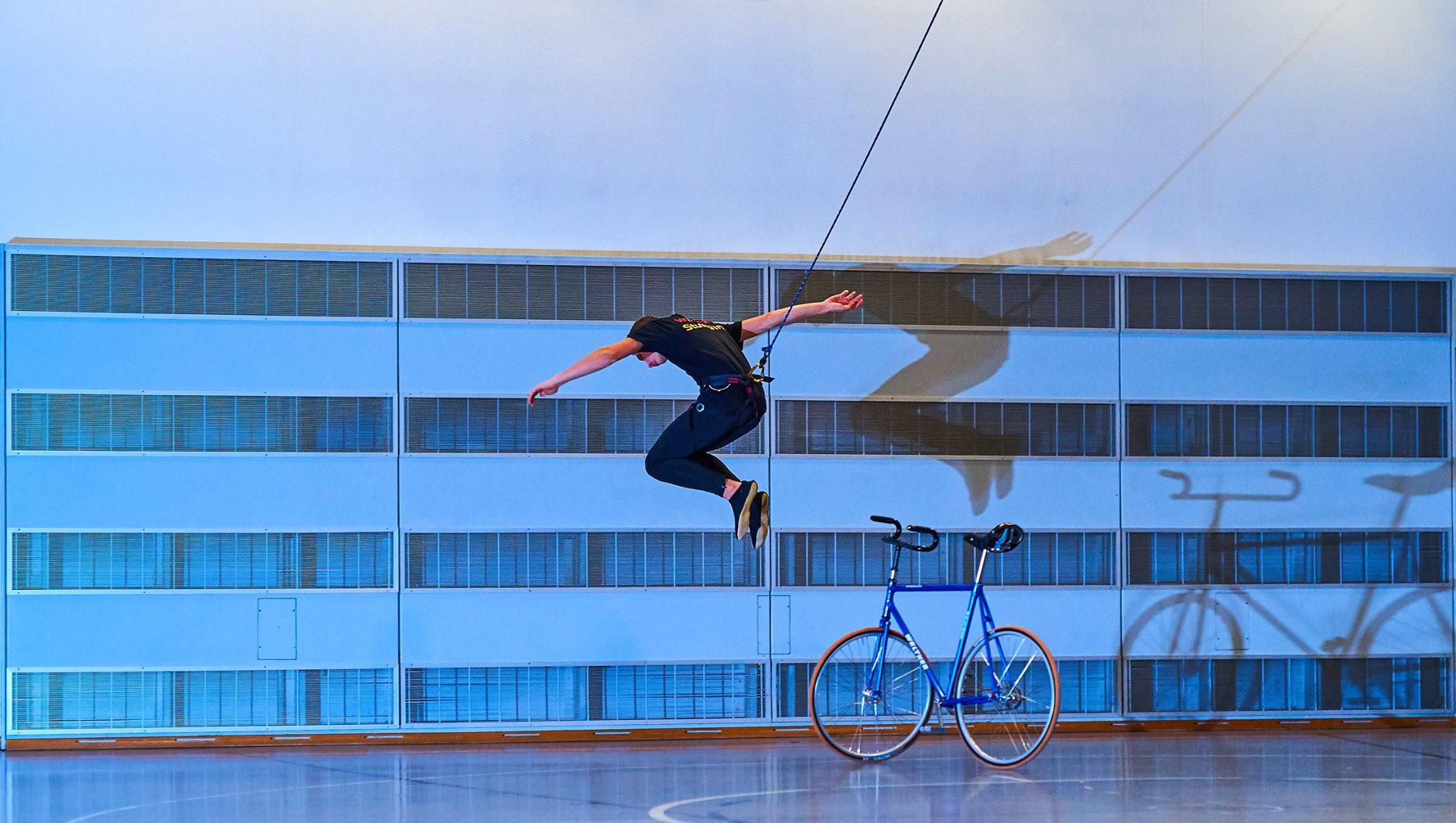 Kunst-/Einrad - ein Gang - ganz viel Acrobatic des RSV Öschelbronn