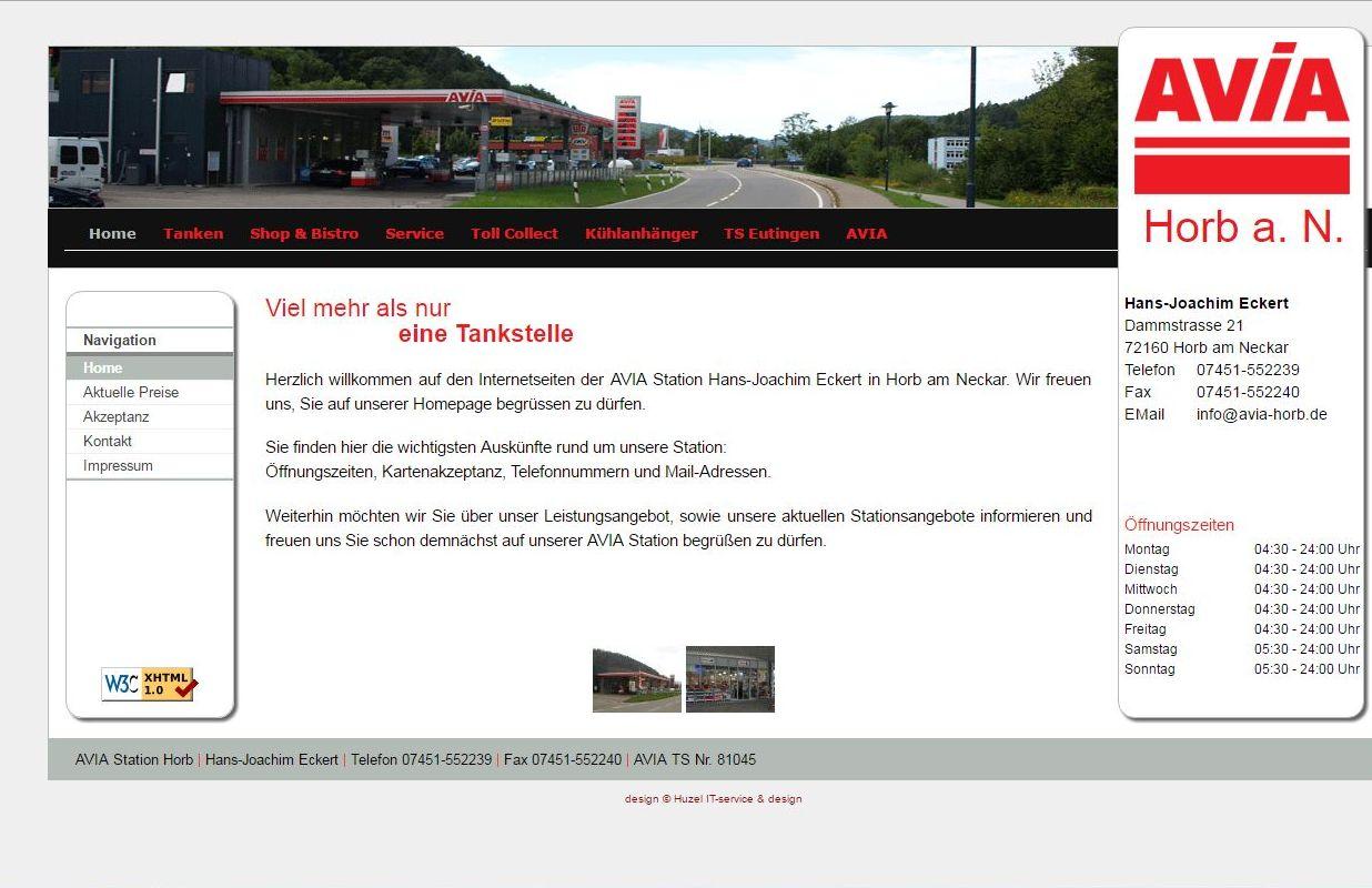 www.avia-horb.de/ Viel mehr als nur eine Tankstelle. Herzlich willkommen auf den Internetseiten der AVIA Station Hans-Joachim Eckert in Horb am Neckar.