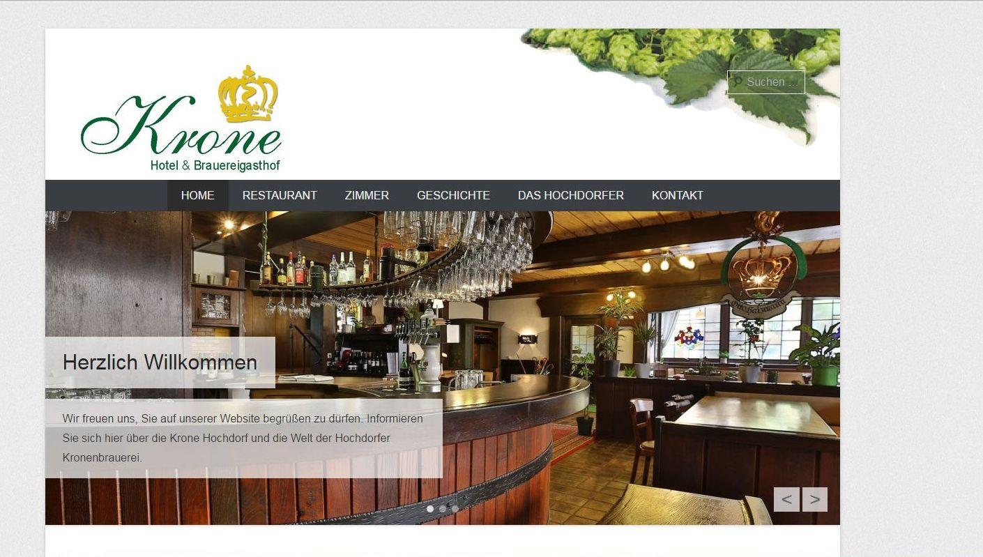 Hotel & Brauereigasthof KRONE Familie Karypidis