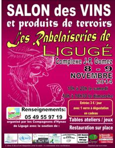 salon vins Ligugé - salon86 - Poitiers vins - rabelaiseries - compagnons hynao