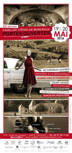 Cadillac côtes de Bordeaux portes ouvertes 23éme édition