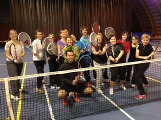 Cours de tennis loisir féminin