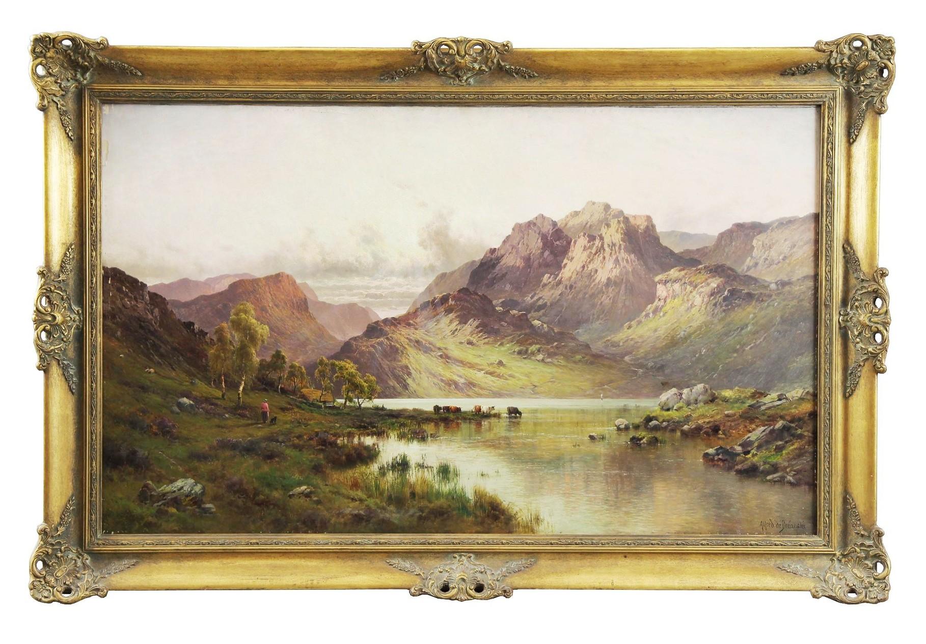 Alfred de Breanski, Auktionserlös 11.000 €