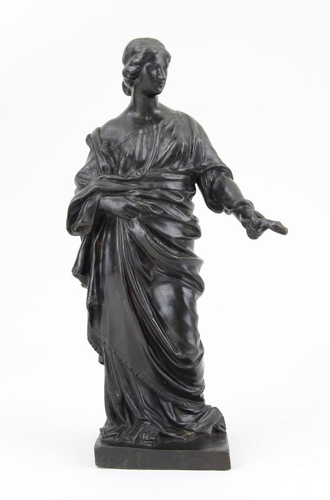 Georg Raphael Donner attr., Bronzefigur 18.Jhd. Erlös der Skulpturenauktion 1600 €