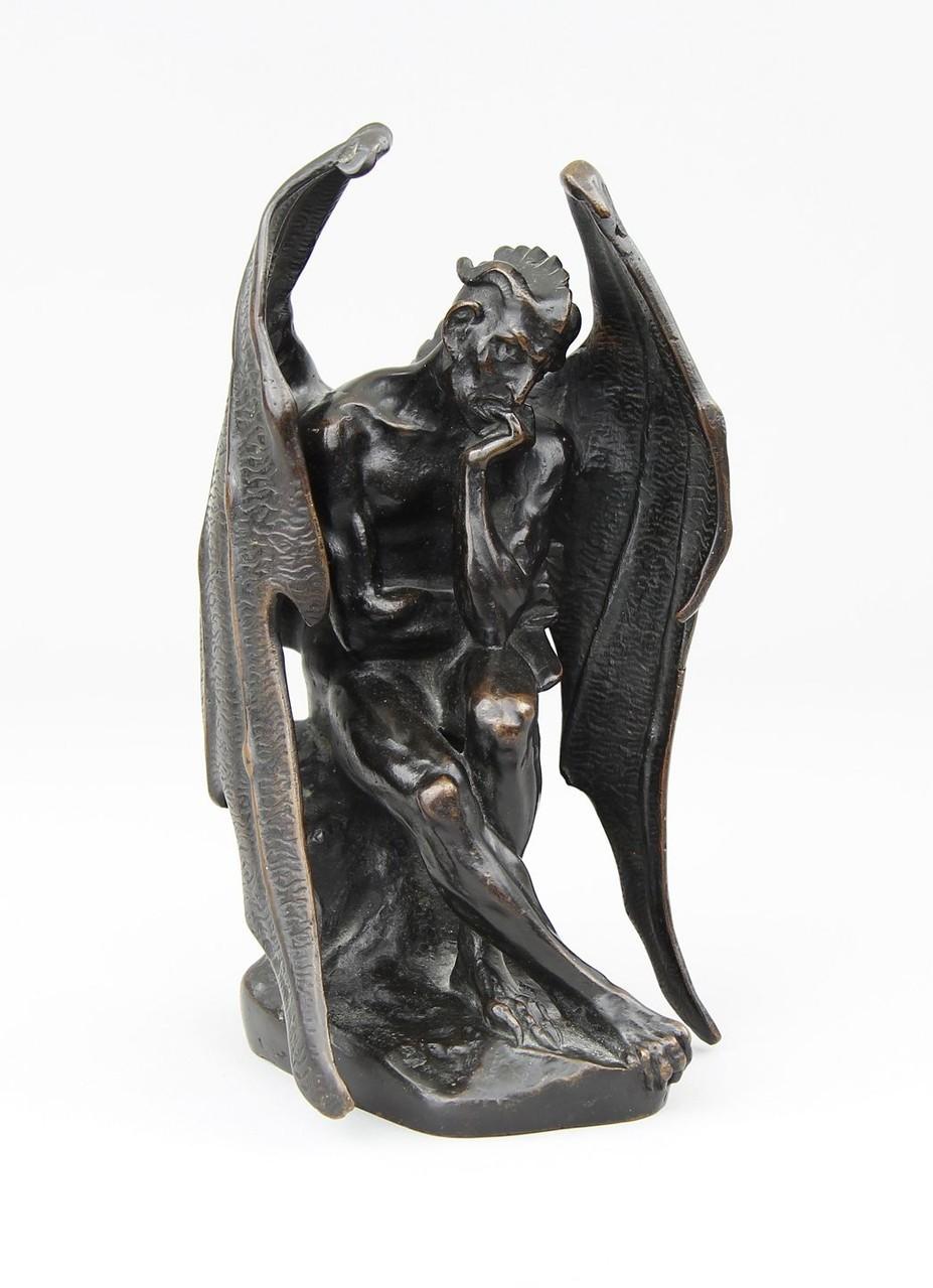 J.J.Feuchere 'Satan / Mephistopheles' Aktuelle Kunstauktion