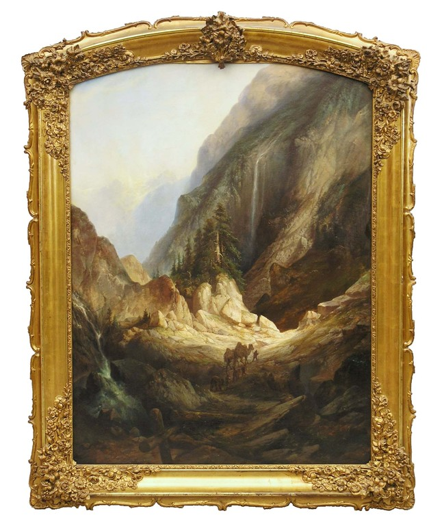 Landschaftsgemälde des 19. Jahrhunderts, Gemäldeankauf + Gemäldeauktionen