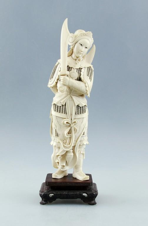 Antike Elfenbein-Figuren, Ankauf, Verkauf + Versteigerung