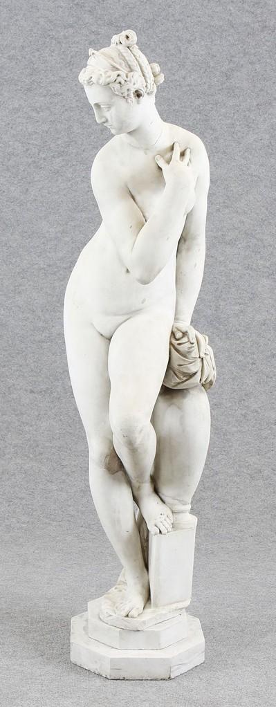 Marmorfigur 'Grotticelli-Venus' nach Giambologna, 17.718. Jhd. Limit 17.500€