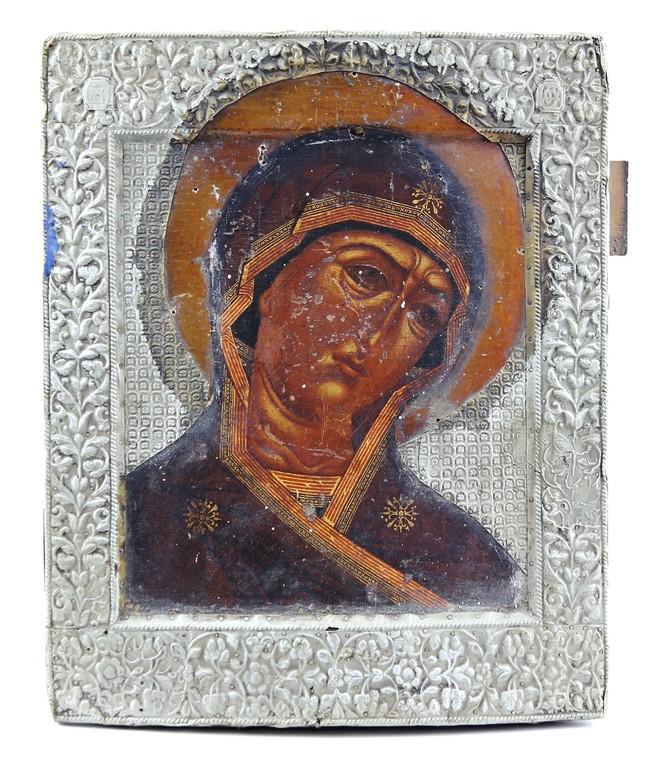Gottesmutter 'Ognewidnaja' Russland 18.Jahrhundert, Erlös 4500 €