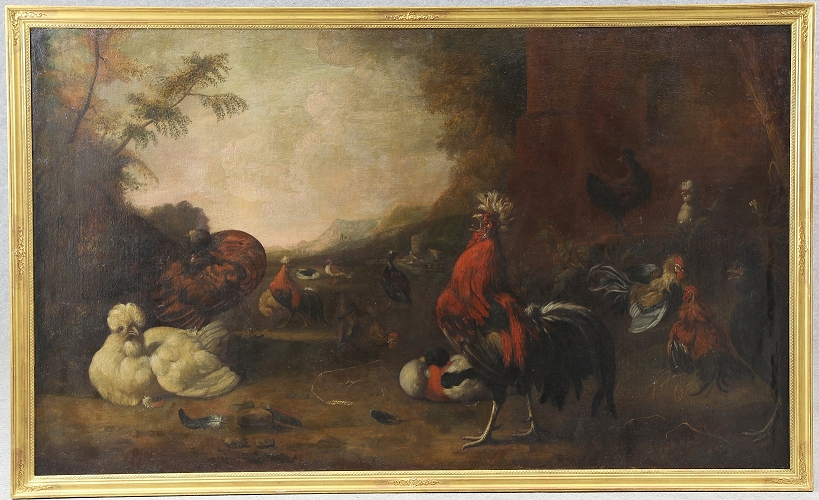 Melchior de Hondecoeter, aktuelle Kunstauktion