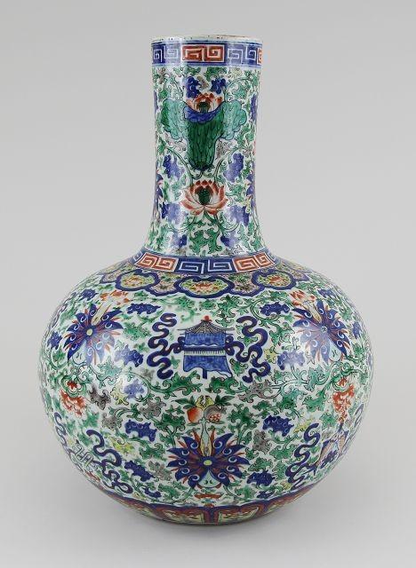 Porzellanvase China Doucai, Auktionserlös 12.000 €