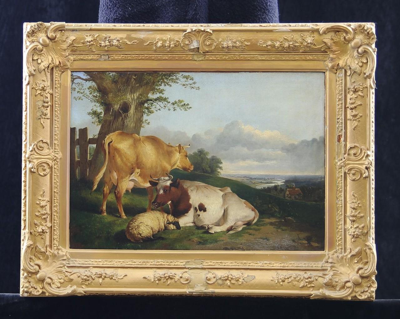 T.S.Cooper 'Viehweide' Ölgemälde signiert & datiert 1866, Kunstauktion