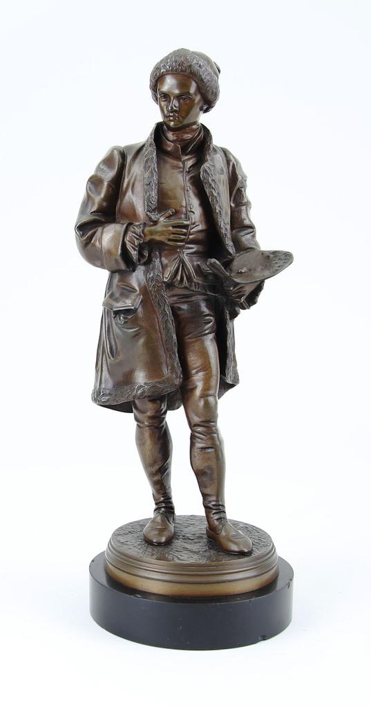 Jean Jules Salmson, Bronzefigur 'Maler'