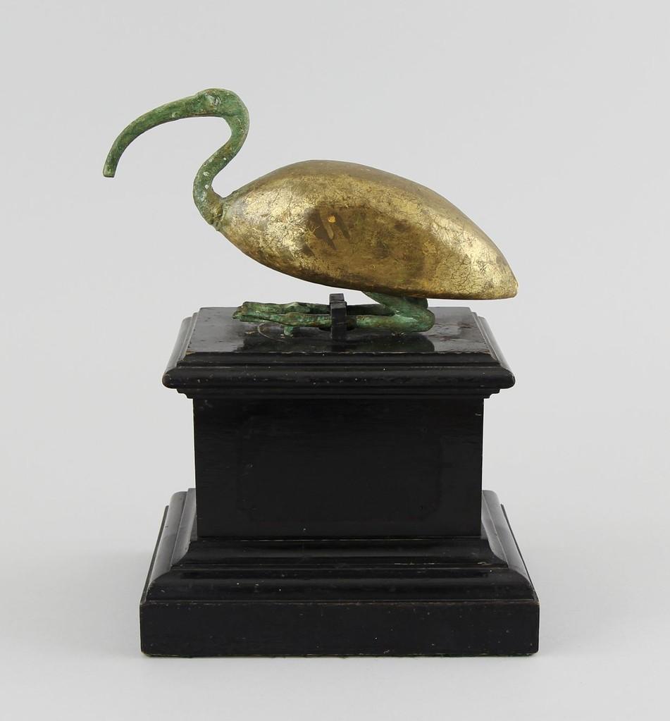 Ibis-Statuette, Ägypten Ptolemäer 4.-3. Jhd.v.Chr., 20,5cm, Erlös 800 €