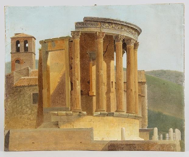 Der Vestas-Tempel in Tivoli, Erlös 26.000 €