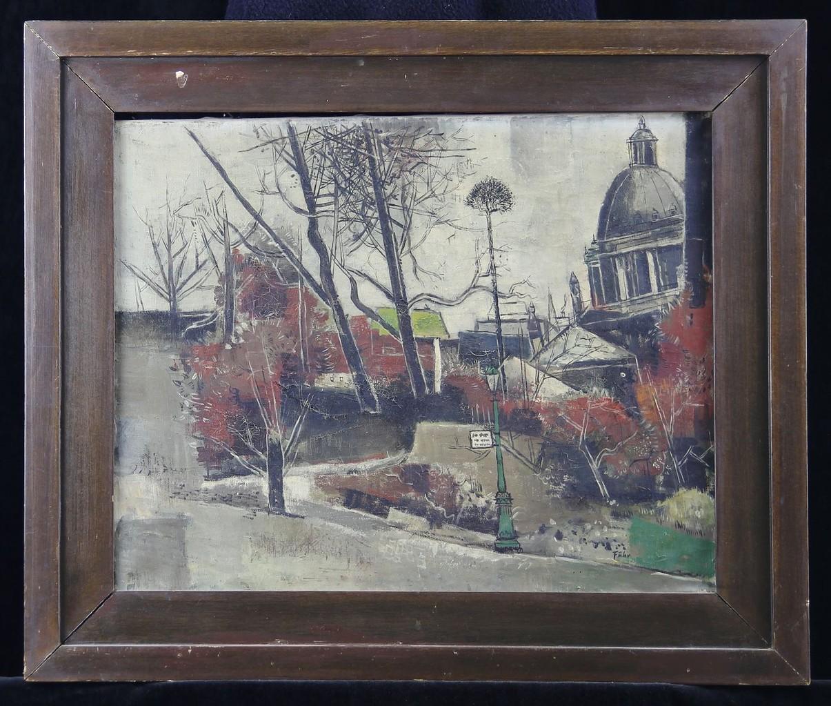Xaver Fuhr 'Stadtansicht' ~1930
