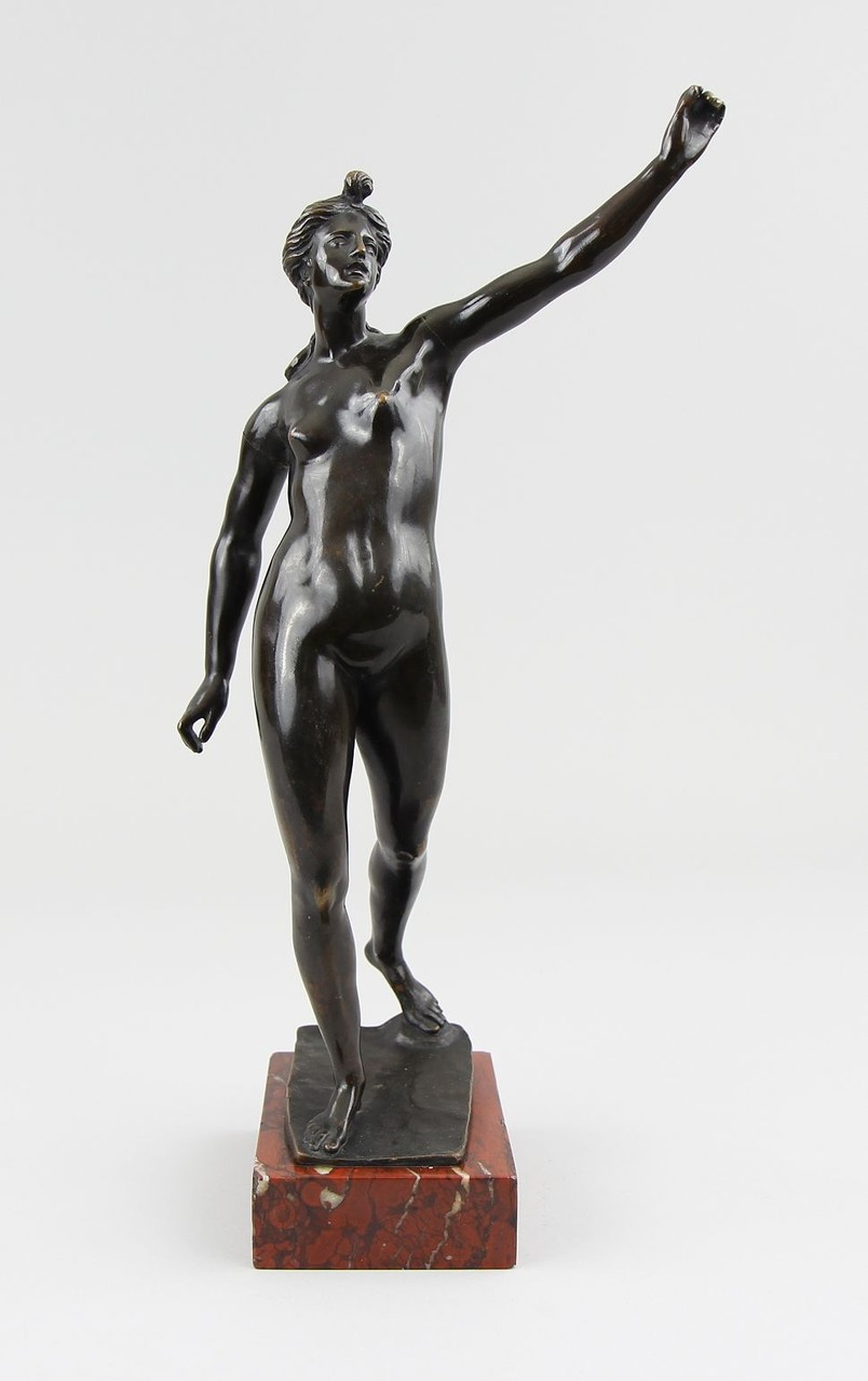 G.R.Donner Bronzefigur,Kunstauktion