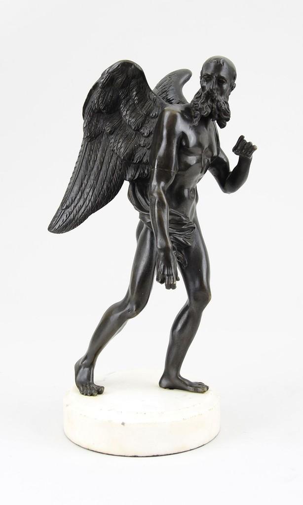 Bronzefigur 'Chronos' 17. Jhd. Bronzefiguren-Ankauf + Auktion