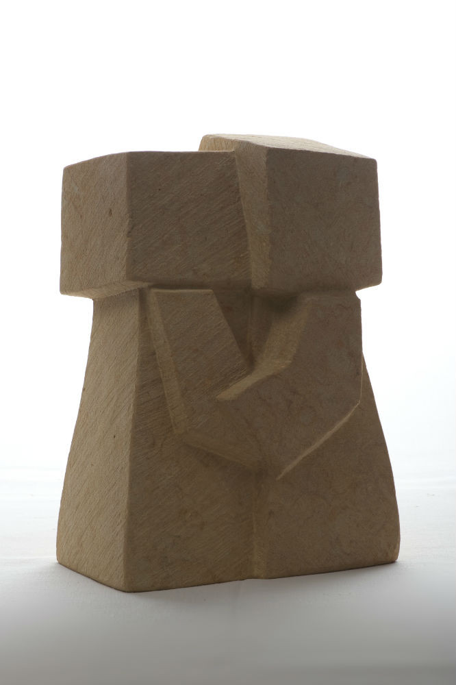 Der Kuß 2012 Cottaer  Sandstein ca.35 cm