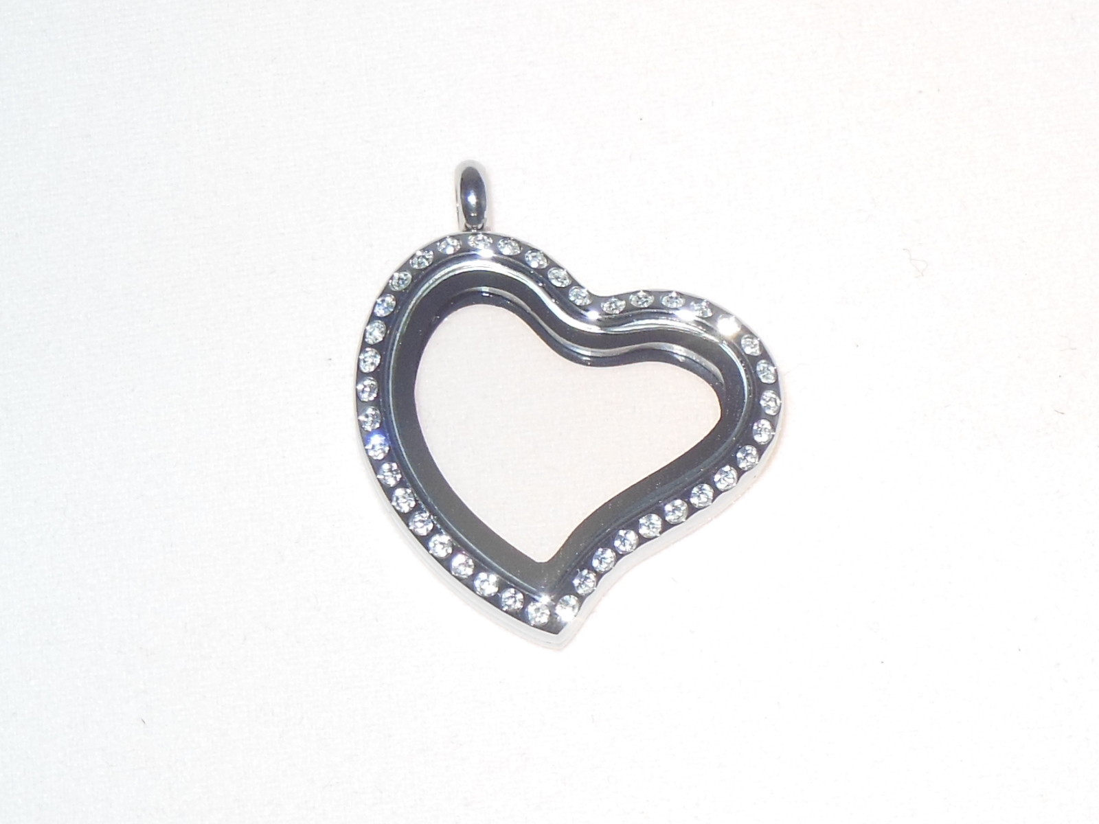 HEART OF LIGHT color silver  with crystals