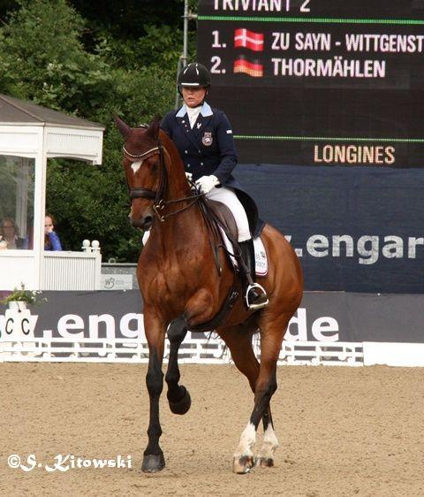 Charlotte Haid Bondergaard auf Triviant 2 - Platz 3