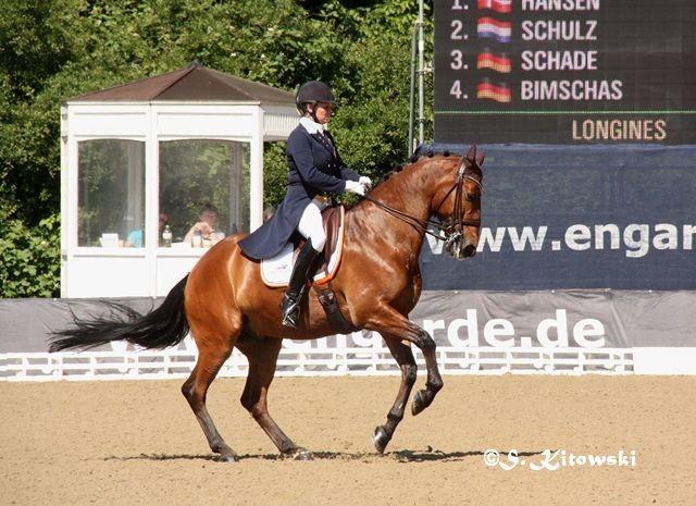 Charlotte Haid Bondergaard und Roberto des Frettes - Platz 7