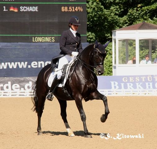 Anja Hermelink und Riva - Platz 6