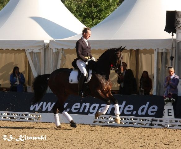Peter Koch auf Corsiere - Platz 5