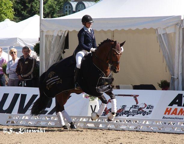 Roberto des Frettes und Charlotte Haid Bondergaard - Platz 1